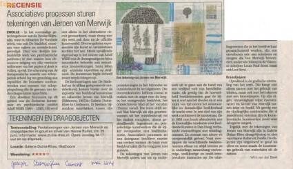 recentie Steenwijker Courant